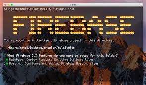 Deploying an Angular App to Firebase Hosting ← Alligator.io