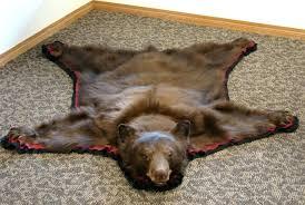 fake bear skin rug with head faux bearskin rug image of brown bear skin with head fake bear skin rug