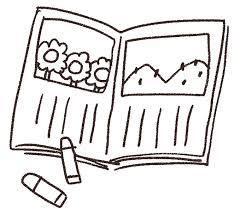 絵日記のイラスト夏休み ゆるかわいい無料イラスト素材集