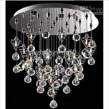 chic hanging ball chandelier crystal chandelier modern lamp glass ball lamp hanging lampdy1020