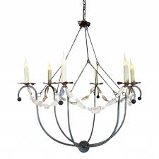 spring island small white basket chandelier for cottage bungalow