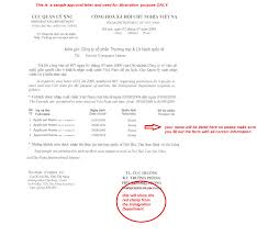 Us Citizenship Letter Of Recommendation Example What Is Vietnam Visa Approval Letter And How To Get One My Vietnam