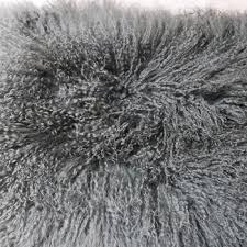 mongolian fur rug grey tibet lamb fur skin rug mongolia sheep fur blanket curly hair lamb