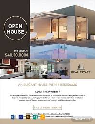 Free Luxury Home Real Estate Flyer Template Word Psd