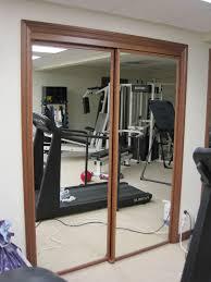 unbelievable mirrored closet sliding doors wood framed
