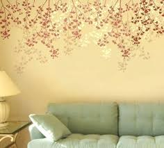 flower stencils for wall painting painting stencils for wall art living room wall paint stencils wall