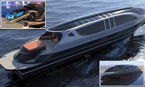 There's no word on the price yet, but only 66 of them are being made, to be delivered in march 2018. Supercar Fans May Race For A 52 Million Yacht Which Comes With A Free 4 Million Bugatti Chiron Daily Mail Online