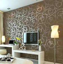 bedroom wall texture luxury flocking textured wallpaper modern wall paper roll home decor for living bedroom