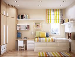 furniture for a small bedroom. Bright And Cheerful Small Bedroom Furniture For A