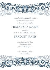 Invitation Free Templates Free Wedding Invitation Templates For Word Marina Gallery