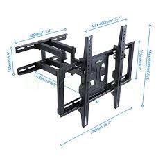 samsung 50mu6120. tilt \u0026 swivel tv wall bracket mount samsung lg 32 42 46 47 48 49 50 50mu6120
