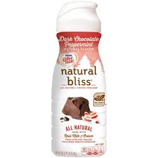 This rich and creamy coffee creamer is low carb, sugar free, and a trim healthy mama s fuel! Coffee Mate Natural Bliss Dark Chocolate Peppermint All Natural Liquid Coffee Creamer 16 Fl Oz Bottle Walmart Com Walmart Com