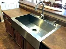 top mount sink on granite astonish kitchen farmhouse a interior design how to install countertops