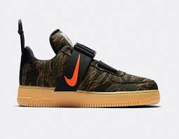 Nike air force 1 basse Casual Shoes Nike Air Force Utility Low Carhartt Wip Camo Green Total Orange Av3866001 Sneaker News Nike Air Force Utility Low Carhartt Wip Camo Green Total Orange