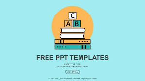 free powerpoint templates for mac alphabet letter abc blocks on books powerpoint templates
