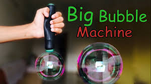 how to make a big bubble machine without motor at home