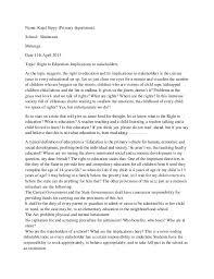 essay on rte  kajal sippy primary department school shishuvan matunga