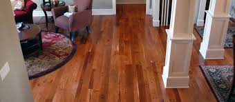 Clear or Unfinished - American Cherry Flooring - Sanded Smooth