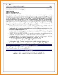8 Sample Cfo Resume Agenda Example