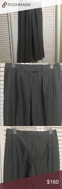 Loro Piana Trousers Size 44 Light Grey With White Strips