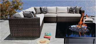 outdoor sectional wicker patio furniture louvre luxury outdoor sectional in toronto