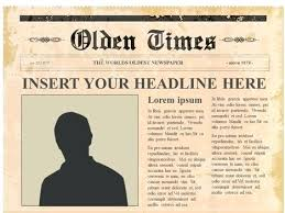 Editable Newspaper Template Word Newspaper Templates For Kids Business Template Pertaining To