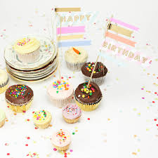 Happy Birthday Cake Flags By Postbox Party Notonthehighstreetcom