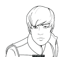 Appealing Justin Bieber Coloring Page Coloring Book Appealing