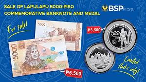 commemorative p5 000 lapu bills