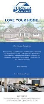 property pamphlet ethan beyer turner properties turner concierge services pamphlet