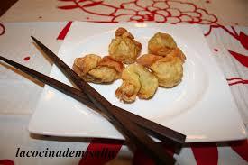 La Cocina De Mj Salla Wonton Frito Relleno De Carne