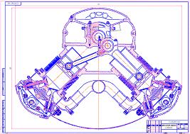 Примеры выполнения чертежей машиностроительное черчение Изготовление чертежей для курсовых и дипломных проектов