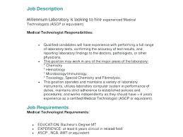 Premium Resume Templates Enchanting Medical Technologist Resume Template Resume Sample Directory Medical