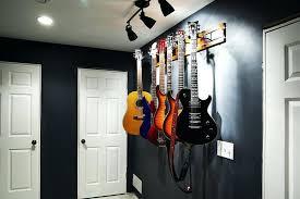 guitar wall display guitar wall hanger bedroom eclectic with guitar display guitar hanger image by guitar wall mount display case