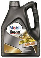 """<b>Масло моторное</b> синтетическое """"Super 3000 X1 5W-40"""", 4л <b>Mobil</b> ..."""