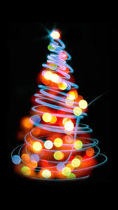 christmas iphone 5 wallpaper. Exellent Christmas Glowing Lights Christmas Tree Illustration IPhone 5 Wallpaper  On Iphone