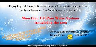 Home Soft Water Systems Lac Du Bonnet Pure Water R0e 1a0