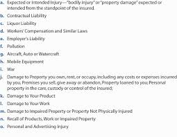 commercial general liability policy and commercial umbrella liability policy
