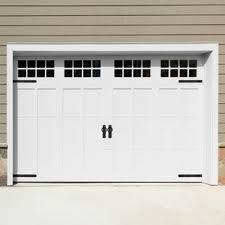 6 piece decorative magnetic garage door hinge and handle set