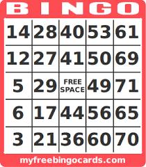 Free Printable Bingo Card Generator Team Players Pinterest