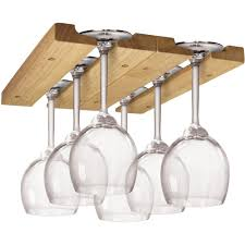 Coffee Cup Rack Under Cabinet Wine Glass Racks Stemware Holder Hanging Stemware Rack