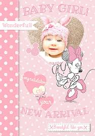 Babygirl Cards New Baby Girl Cards Funky Pigeon