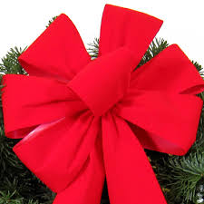 Holiday bows | Wreath Bows | Outdoor Bows | Holiday Ribbon