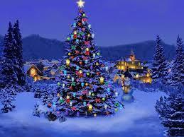 Christmas tree wallpaper, Christmas ...