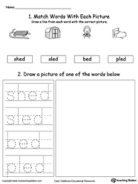 This is a phonics packet to help your kindergarten and first grade students practice their 'magic e' long o vowel words. Ed Word Family Phonics And Writing Practice Myteachingstation Com