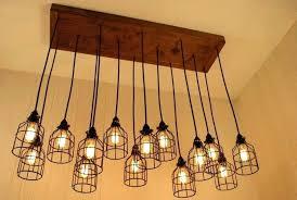 edison bulb chandelier hanging light