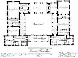 large ranch style house plans with courtyard homes narrow lots fl for walkout basement