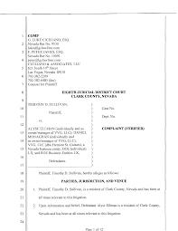 Sample Civil Complaint Form Best Photos Of Sample Civil Complaint Template Sample Civil 15