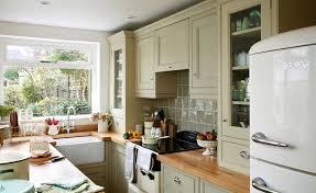 kitchen ideas uk. Plain Kitchen Small Kitchen With Green Cabinets And Kitchen Ideas Uk U