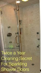 best way to clean shower gl doors mycoffeepot
